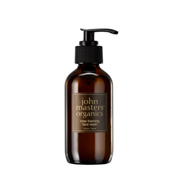 Rose foaming face wash – John Masters Organics