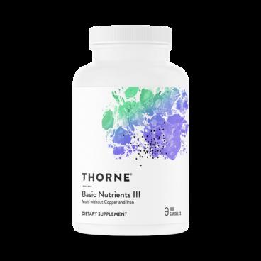 Basic Nutrients III – Thorne