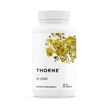 D-1000 (D-vitamin) – Thorne