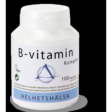 B-vitamin Komplex 100 kaps – Helhetshälsa