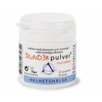 Dunderpulver med hallon – Helhetshälsa