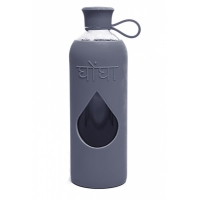 Vattenflaska Jet (Mörkgrå) - Ghongha