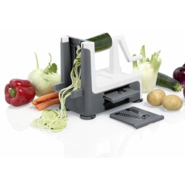 Grönsakssvarv Spirali Spiralizer Grå - Lurch
