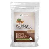 Nötmjölkspåse med snöre - E3Live
