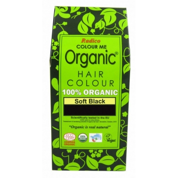 Organic Hair Colour Soft Black - Radico