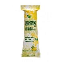 Organic Confidence Deodorant Lemon-Tea Tree Mint – Organic Essence